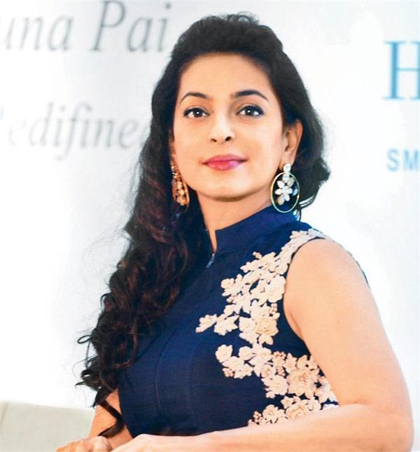juhi chawla to debut in web series
