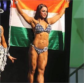 श्वेता राठौर ने लगाया गोल्ड मैडल और मिस इंडिया ख़िताब की हैट्रिक….