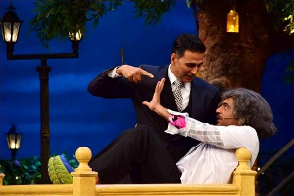 jolly llb praise on the fun on the sets of kapil sharma