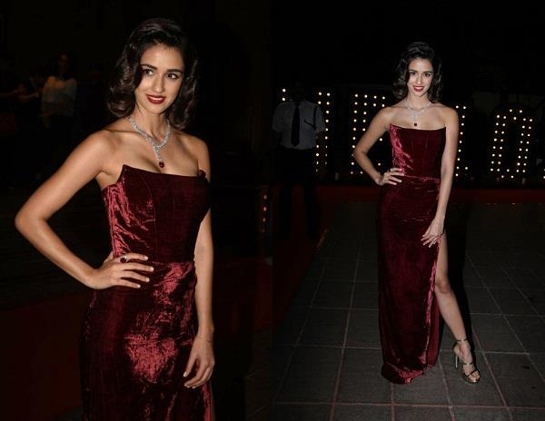 disha patani hot look in hello  hall of fame awards