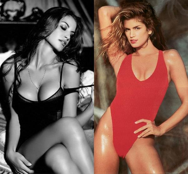 cindy crawford share topless photo