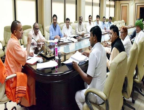 cm yogi angry over the law and order dgp and home secretary