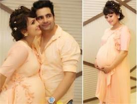 nisha rawal shared photo of her baby shower