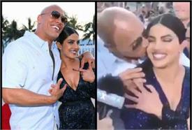 प्रीमियर पर कैमरे के सामने ही को स्टार ने कर दिया प्रियंका चोपड़ा को किया KISS