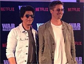 शाहरुख ने ब्रैड पिट को सिखाए DANCE MOVES, कहा सिर्फ ये ही तो खोलनी है...