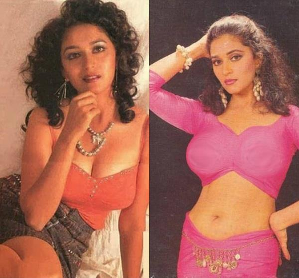 madhuri dixit looked so hot in the youth
