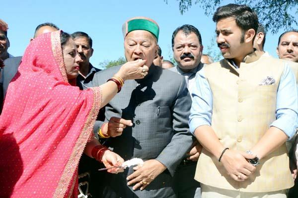 cm virbhadra said  to get something in life has to do struggle