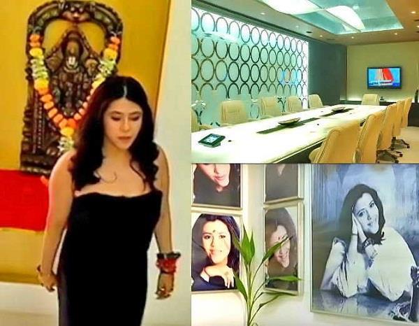 inside photos of ekta kapoor office