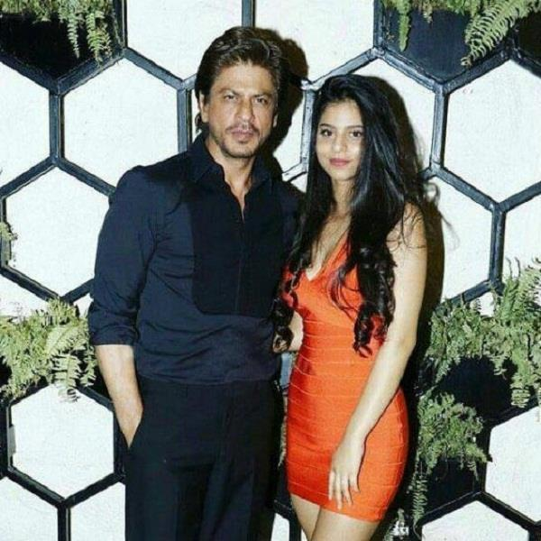 shahrukh said on becoming the actress of suhana