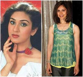 meenakshi sheshadri in different look