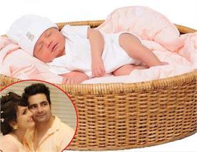 karan mehra and nisha rawals baby boy kavish