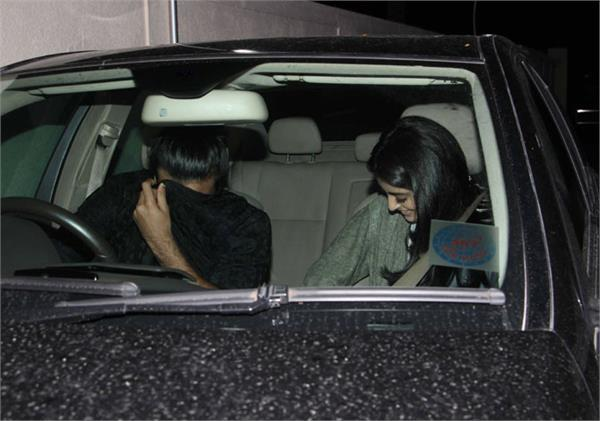 navya naveli nanda spotted at juhu pvr