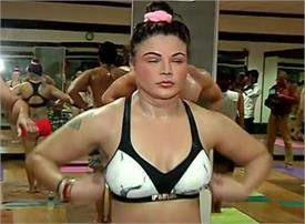 rakhi sawant yoga