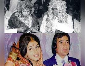 जब 15 साल बड़े राजेश खन्ना से कर ली थी इस एक्ट्रैस ने शादी, ऐसे शुरू हुई लव स्टोरी