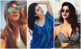 tv actress in bold look