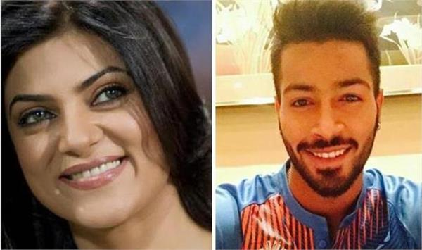 sushmita sen tweeted a special message for cricketer hardik pandya