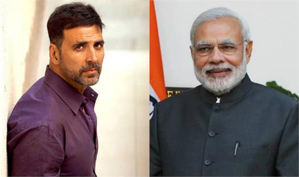 akshay kumar to play pm narendra modi