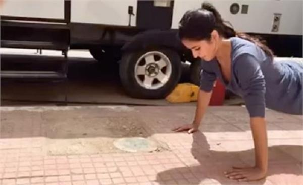 katrina kaif surprised everyone by doing this watching video