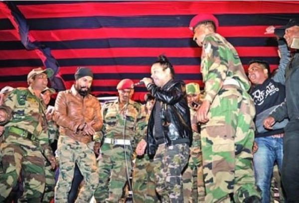 living with kargil warriors was a unique experience