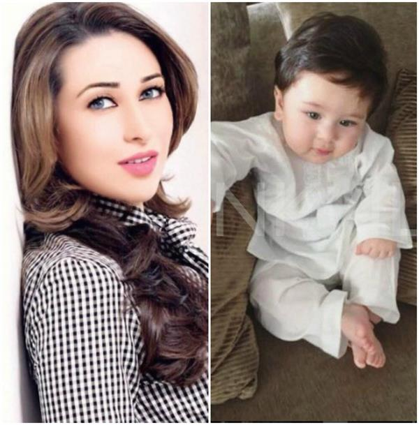 karishma kapoor celebrates taimur ali khan 7 month birthday