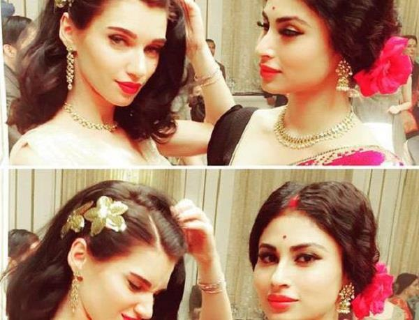 mouni roy starts shooting for askhay kumar film