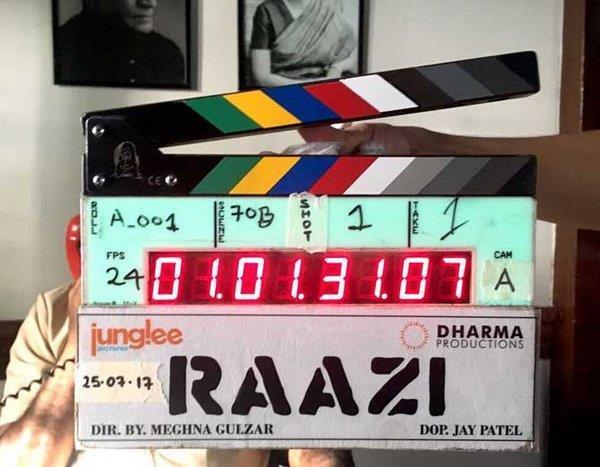 meghna gulzar upcoming directorial raazi has started