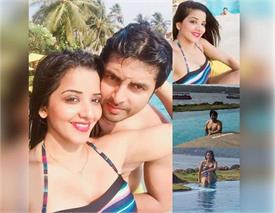 monalisa with vikrant honeymoon in malaysia