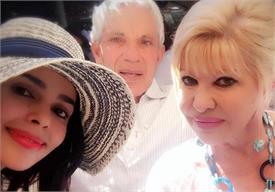 डॉनल्ड ट्रंप की पहली पत्नी से मिलीं मल्लिका शेरावत, शेयर की तस्वीर