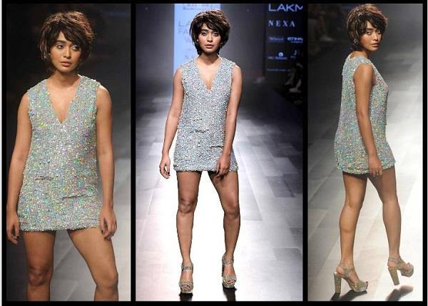 sayani gupta in lakmé fashion week day 1