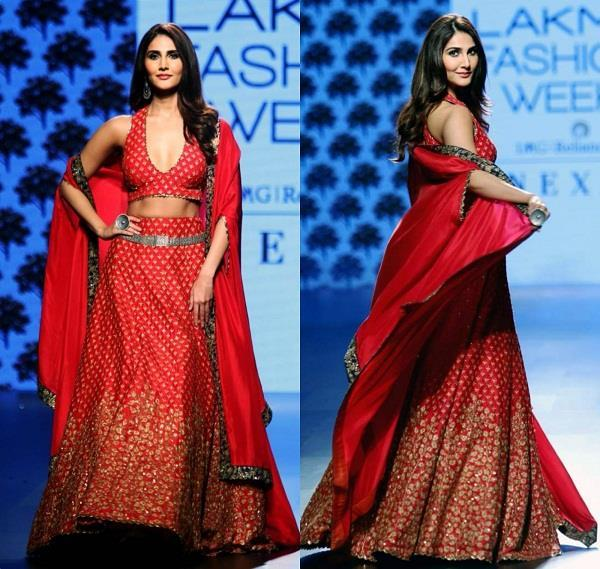 vaani kapoor looked hot in lakme fashion week