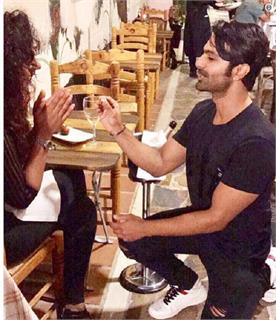 maheck chahal and ashmit patel engaged in spain