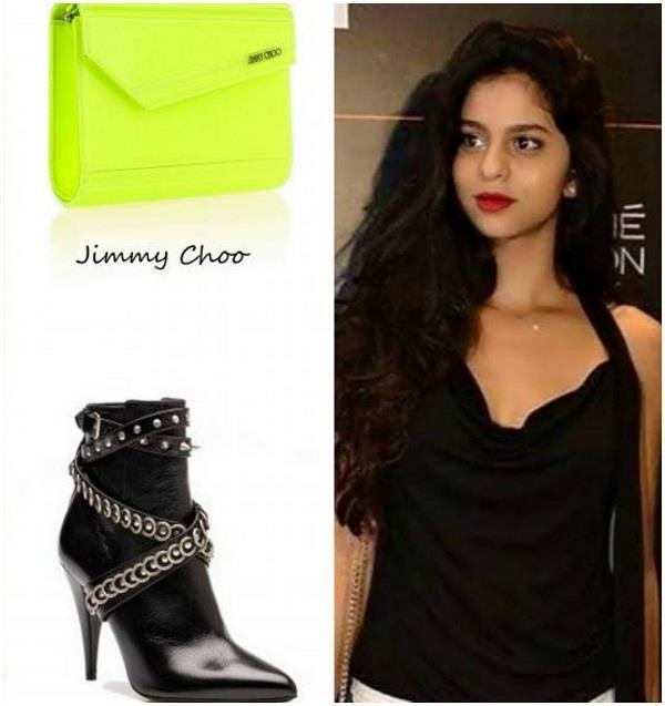 lfw daughter of king khan who was wearing such expensive clutch and shoe