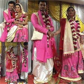 'दीया और बाती हम' की एक्ट्रैस ने रचाई शादी, देखें तस्वीरें