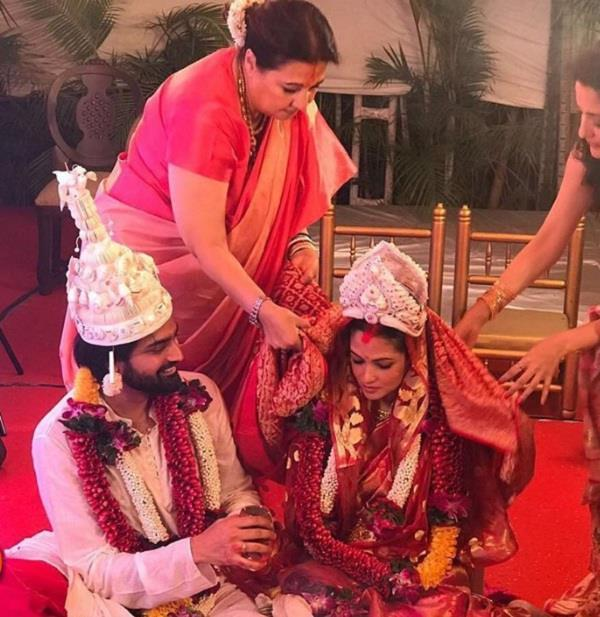riya sen and boyfriend shivam tewari married