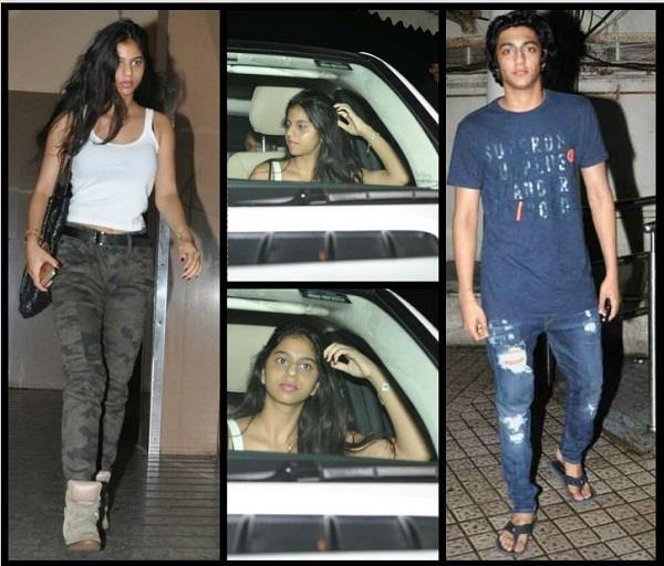 suahana spotted at movie date with ahaan