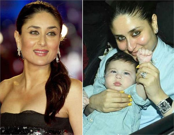 when kareena asked taimur to give up trouble