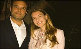 राहुल गांधी से मिलकर खुश हुईं एक्ट्रैस नतालिया रामोस