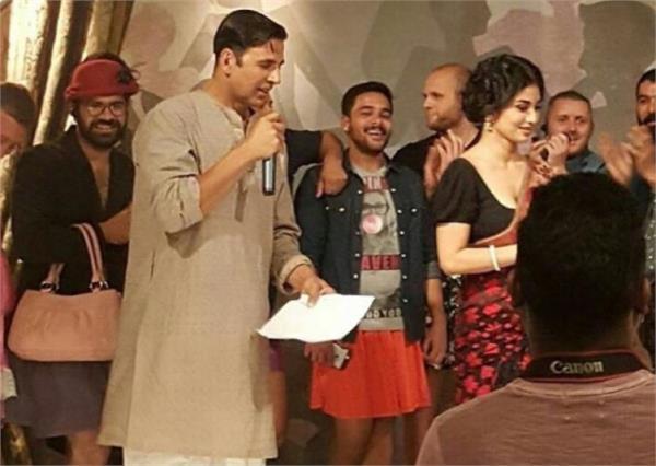 nikita dutta in akshays next film