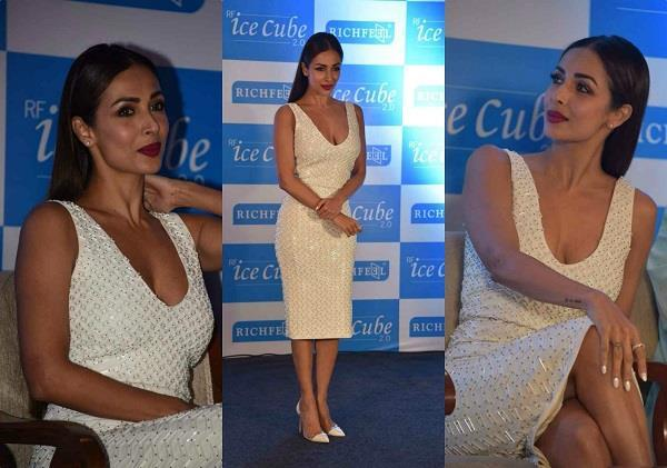 latest pictures of malaika arora at richfeel ice cube launch