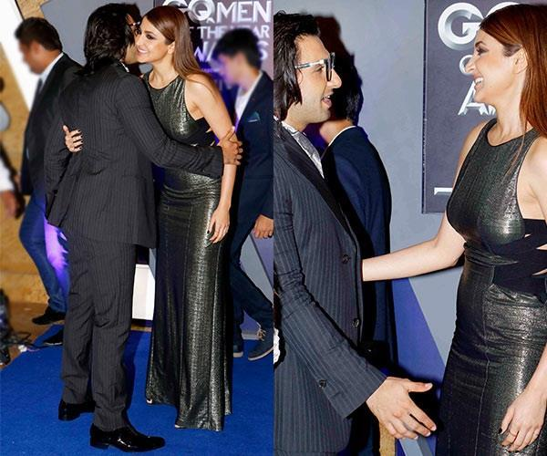 ranveer singh and anushka sharma at gq awards