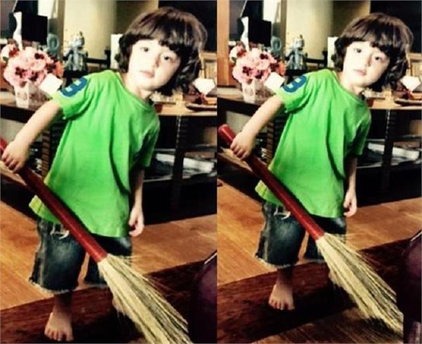 playing with the baby  s broom  gives the signs of these things