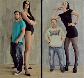 मिलिए सबसे लंबी टांगों वाली मॉडल से, बना दिया गिनीज बुक ऑफ वर्ल्ड रिकॉर्ड!