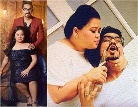 कॉमेडियन भारती सिंह ने मंगेतर के साथ करवाया प्री-वेडिंग फोटोशूट, देखें तस्वीरें