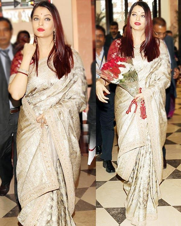 aishwarya rai arrives at first ladies event
