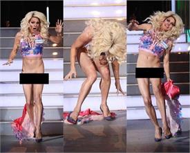 जब स्टेड पर भागते हुई आईं ये हसीना तो उतर गई स्कर्ट, दिखे प्राइवेट पार्टस