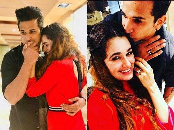 prince narula and yuvika chaudhary are officially engaged