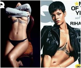 gq photoshoot rihanna