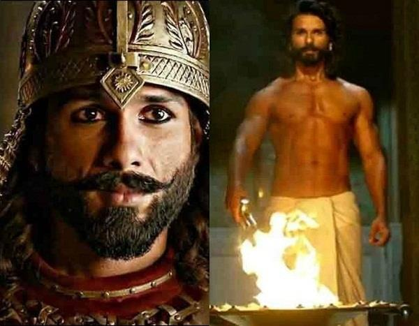 padmaavat shahid kapoor gives perfect body