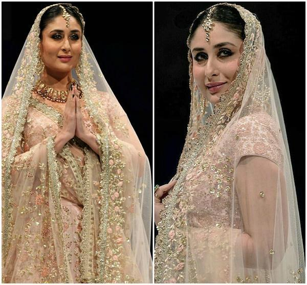 kareena kapoor walks ramp for vikram phadnis in doha