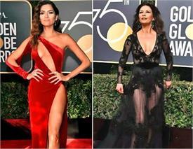 अवॉर्ड्स में किसी एक्ट्रैस ने पहनी ट्रांसपेरेंट ड्रैस तो किसी ने पहनी ब्लैक ड्रैस (seee pics)